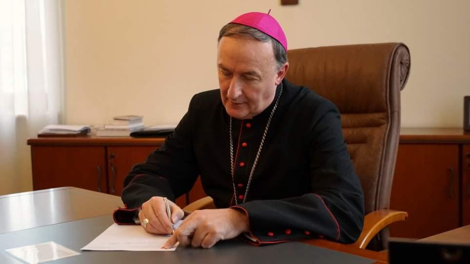 Dekret Biskupa Tarnowskiego po wprowadzeniu stanu zagrożenia epidemicznego w Polsce [14.03.2020]