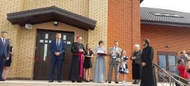 Chromtau: kościół już uroczyście otwarty