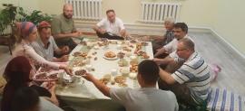 W kazachskiej rodzinie
