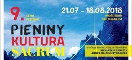 "9. Letni Festiwal ""Pieniny-Kultura-Sacrum"" - zaproszenie"