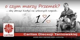 1% podatku dla Caritas Diecezji Tarnowskiej