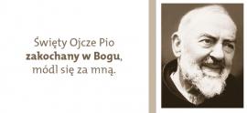 """Materiały na nabożeństwa Drogi Krzyżowej z o.Pio pt. """"Weź udział w Mojej męce"""""""