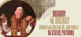 18 maja – rozpoczęcie obchodów 40. rocznicy wyboru św. Jana Pawła II na Stolicę Piotrową