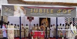 Złoty jubileusz parafii w Kongo - Brazzaville