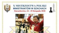 X Mistrzostwa Polski ministrantów w szachach - zaproszenie