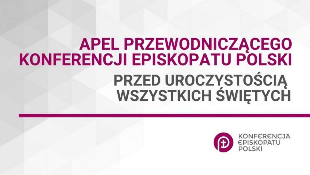 Portal Diecezji Tarnowskiej - Przewodniczący Episkopatu apeluje o  rozłożenie nawiedzania grobów na dni przed i po 1 listopada