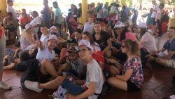Modlitwa, integracja i pozdrowienia z Panamy [ZDJĘCIA, FILM]