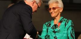 Krzyż Kawalerski Orderu Odrodzenia Polski dla misjonarki Ewy Gawin
